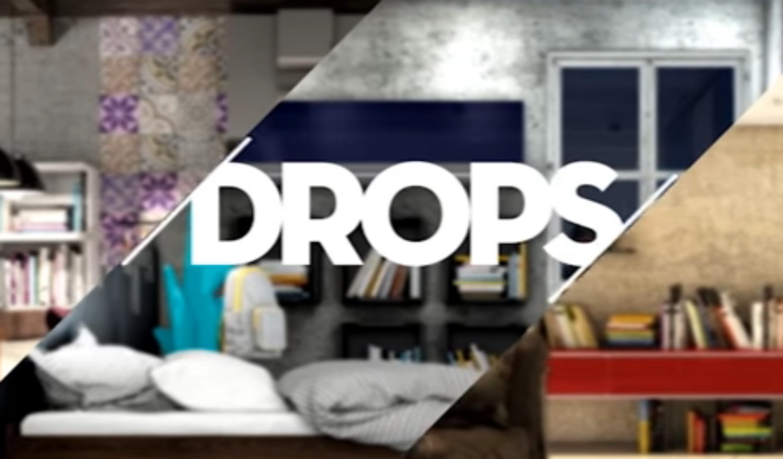 DROPS Finger | Corrediças Quadro