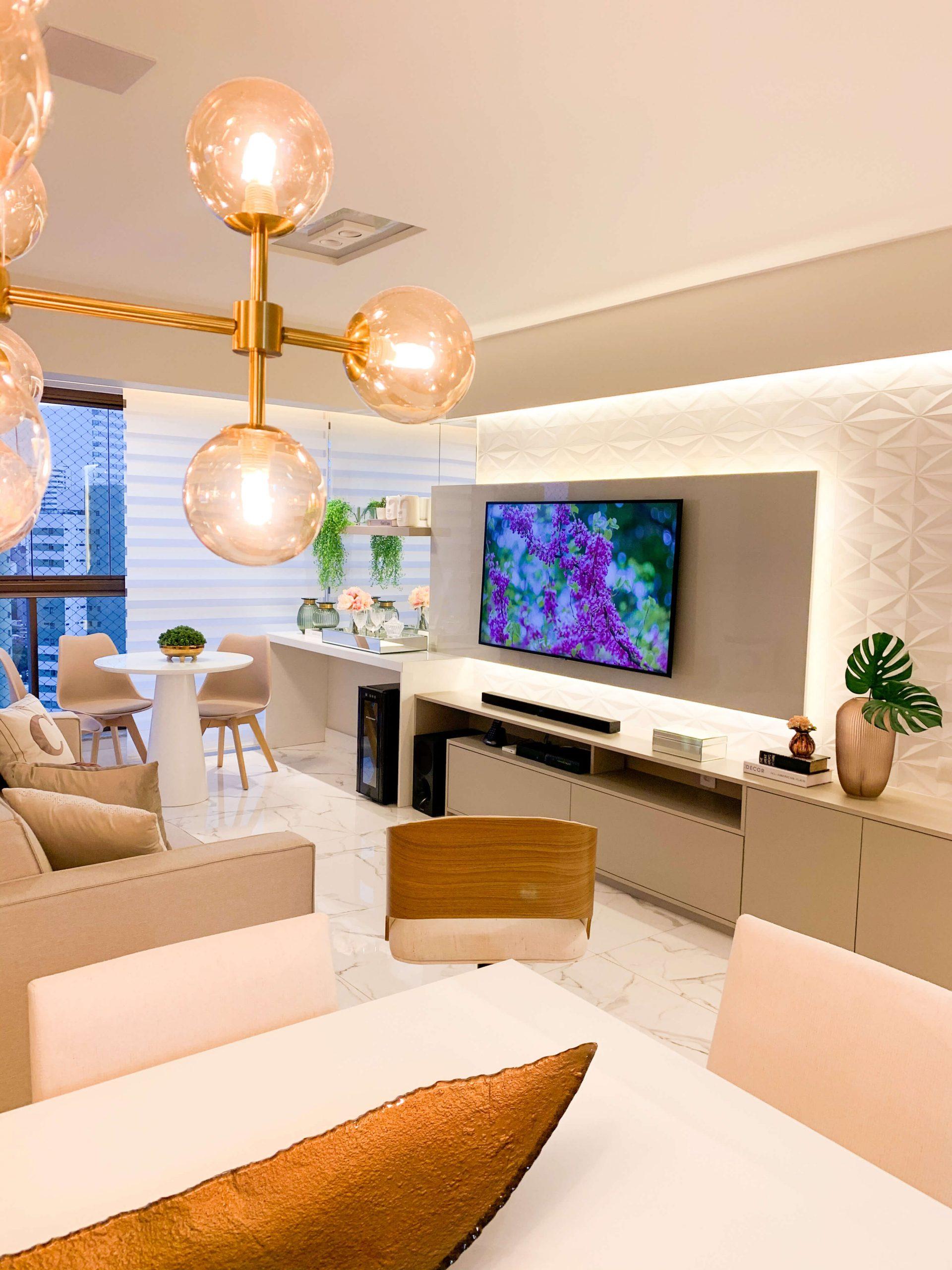 iluminacao sala de estar
