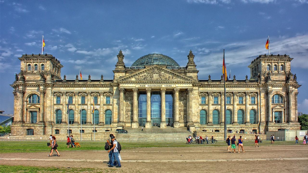palácio em Berlim , uma cidade na europa linda
