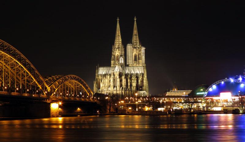 A gótica catedral de Colônia – Alemanha