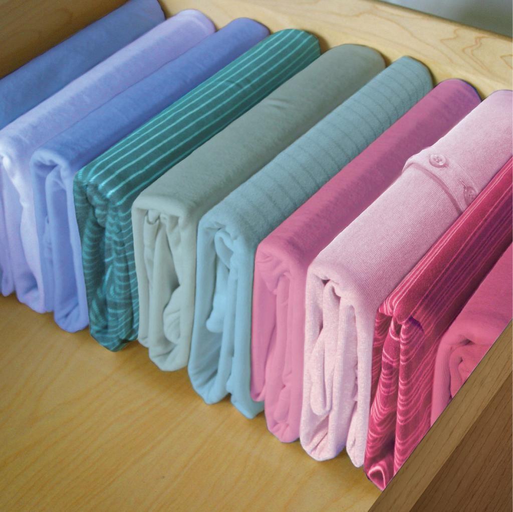 marie kondo organização roupas