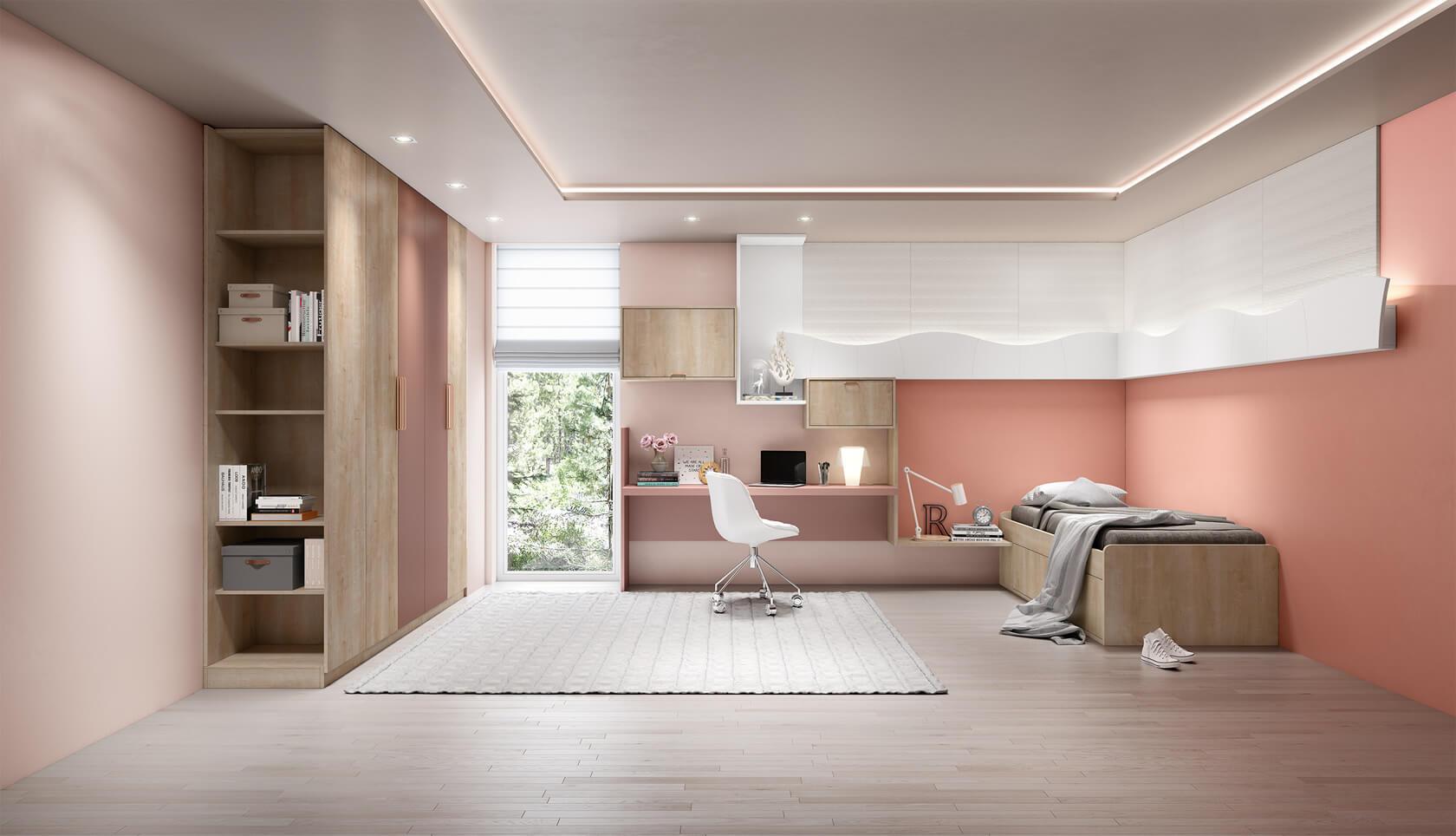 dormitorio quarto jovem personalizado e planejado