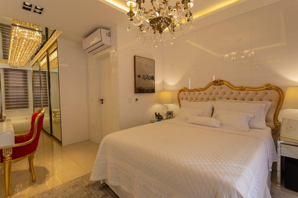 estilo clássico dormitorio casal luxo