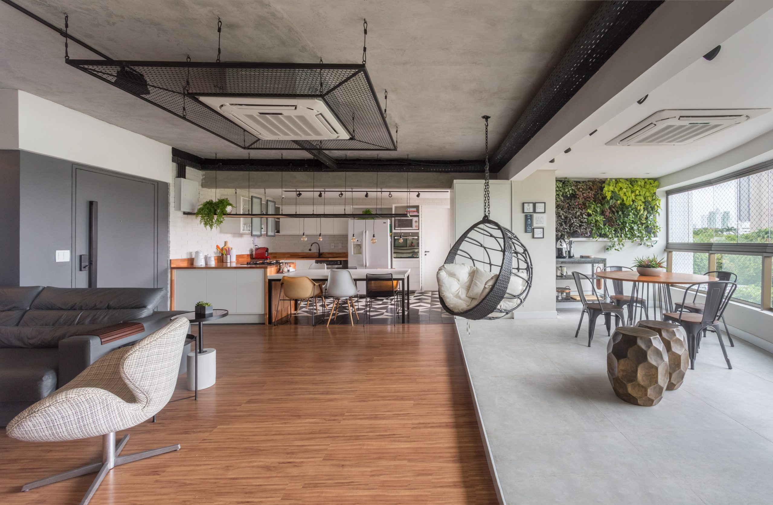 moveis planejados para sala de estar staycation