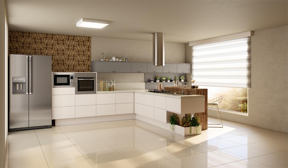 cozinha planejada estilo americano