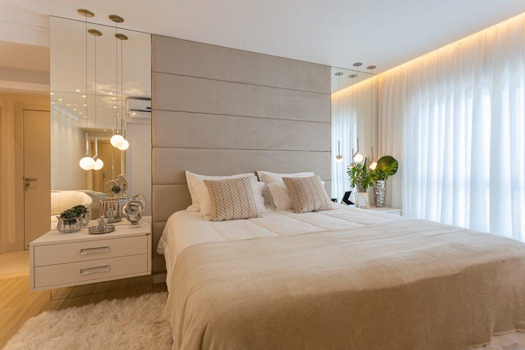 cores neutras - dormitorio planejado - quarto planejado