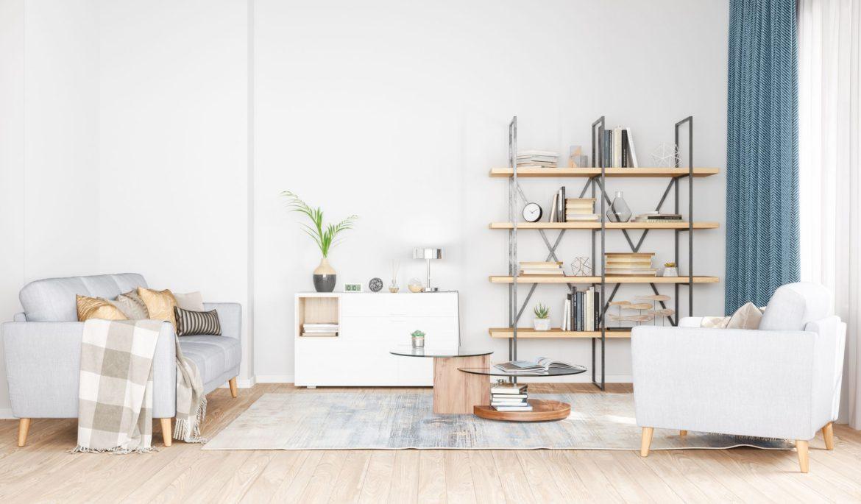 Estante com estilo industrial: como usar essa tendência na sua casa?