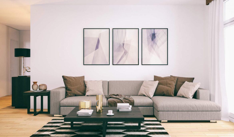 Como usar quadros minimalistas na decoração da sua casa?