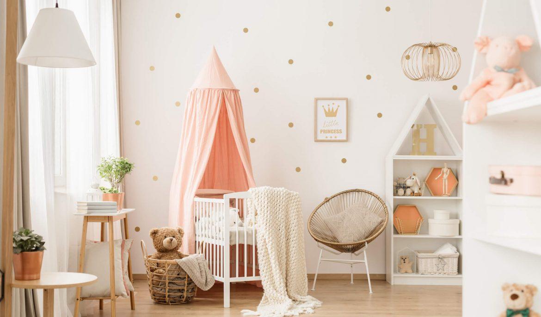 Cores para quarto de bebê: entenda o impacto que elas têm
