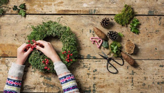 6 ideias de decoração de Natal para a sala