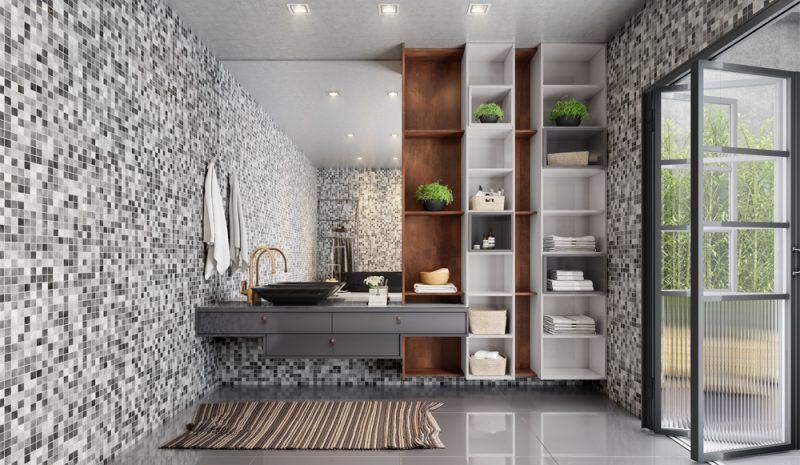 Como criar uma decoração de banheiro elegante e sofisticada?