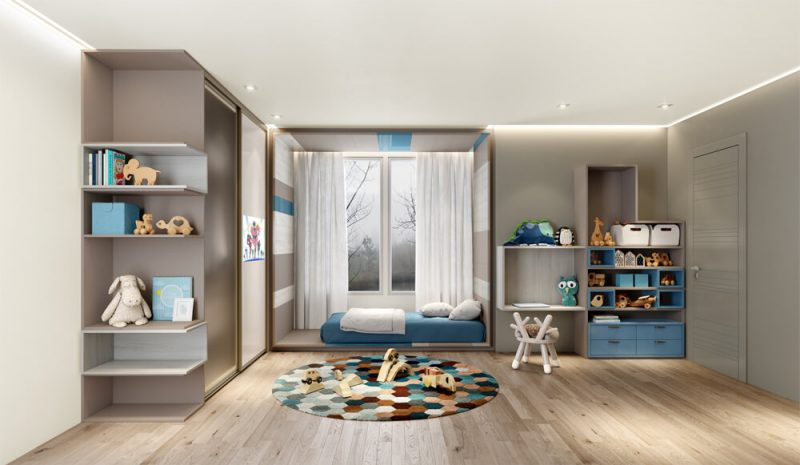 As vantagens de um quarto infantil planejado