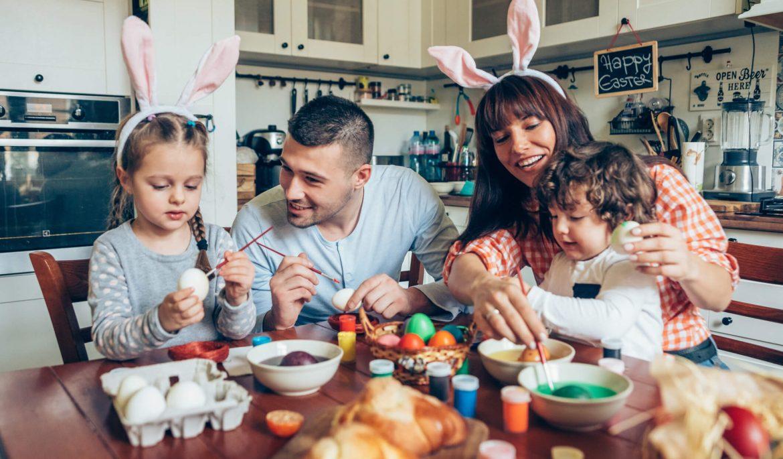 10 ideias para criar sua decoração de Páscoa