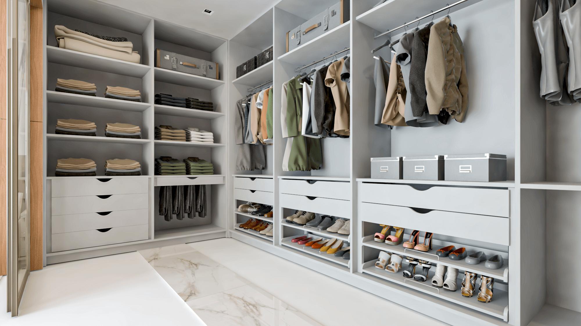 closet personalizado e exclusivo