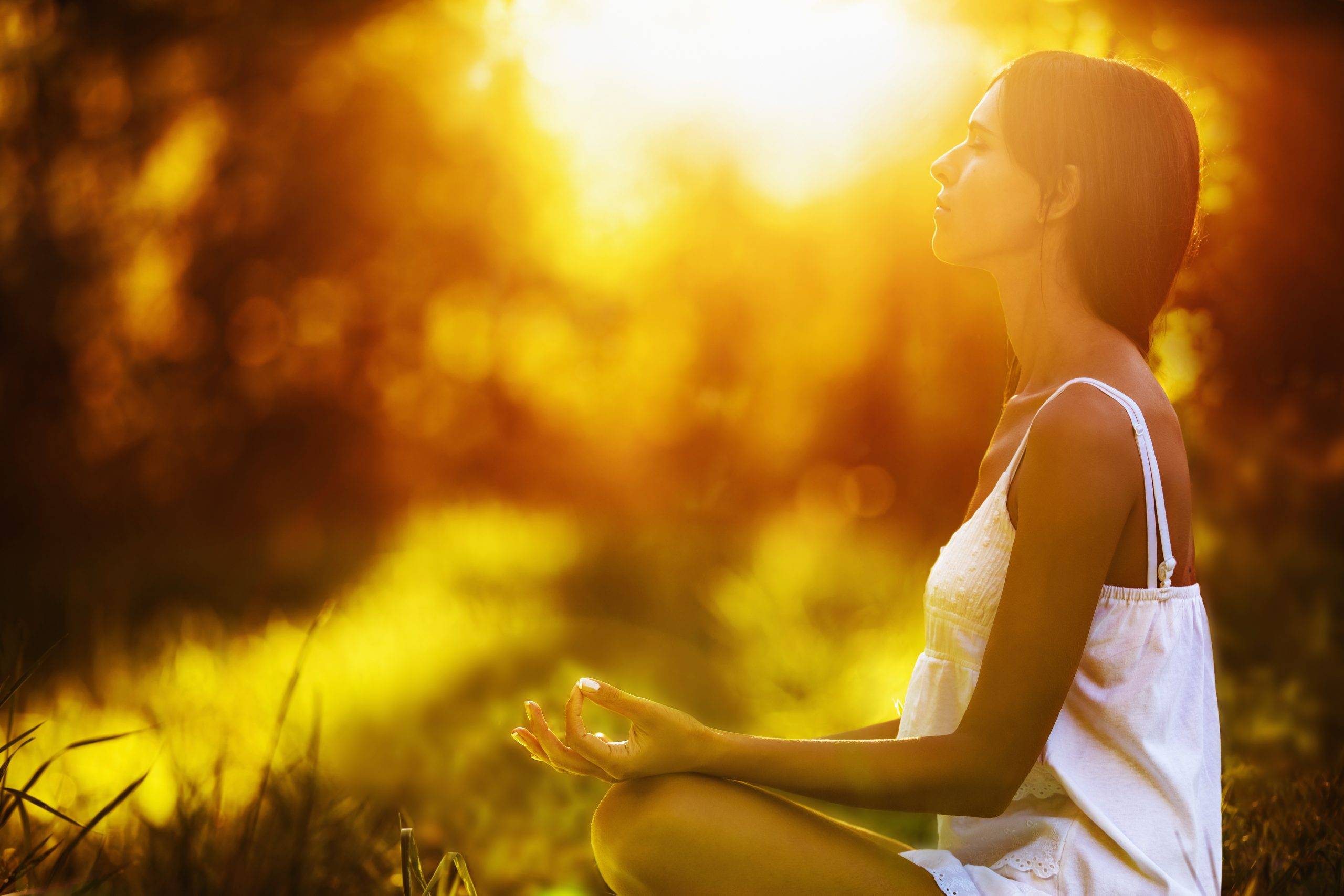 relaxar e meditar