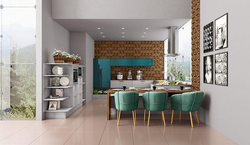 Você sabe quando e como utilizar móveis coloridos na sua casa?