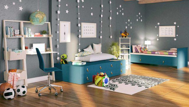 Como criar uma decoração lúdica no quarto das crianças?