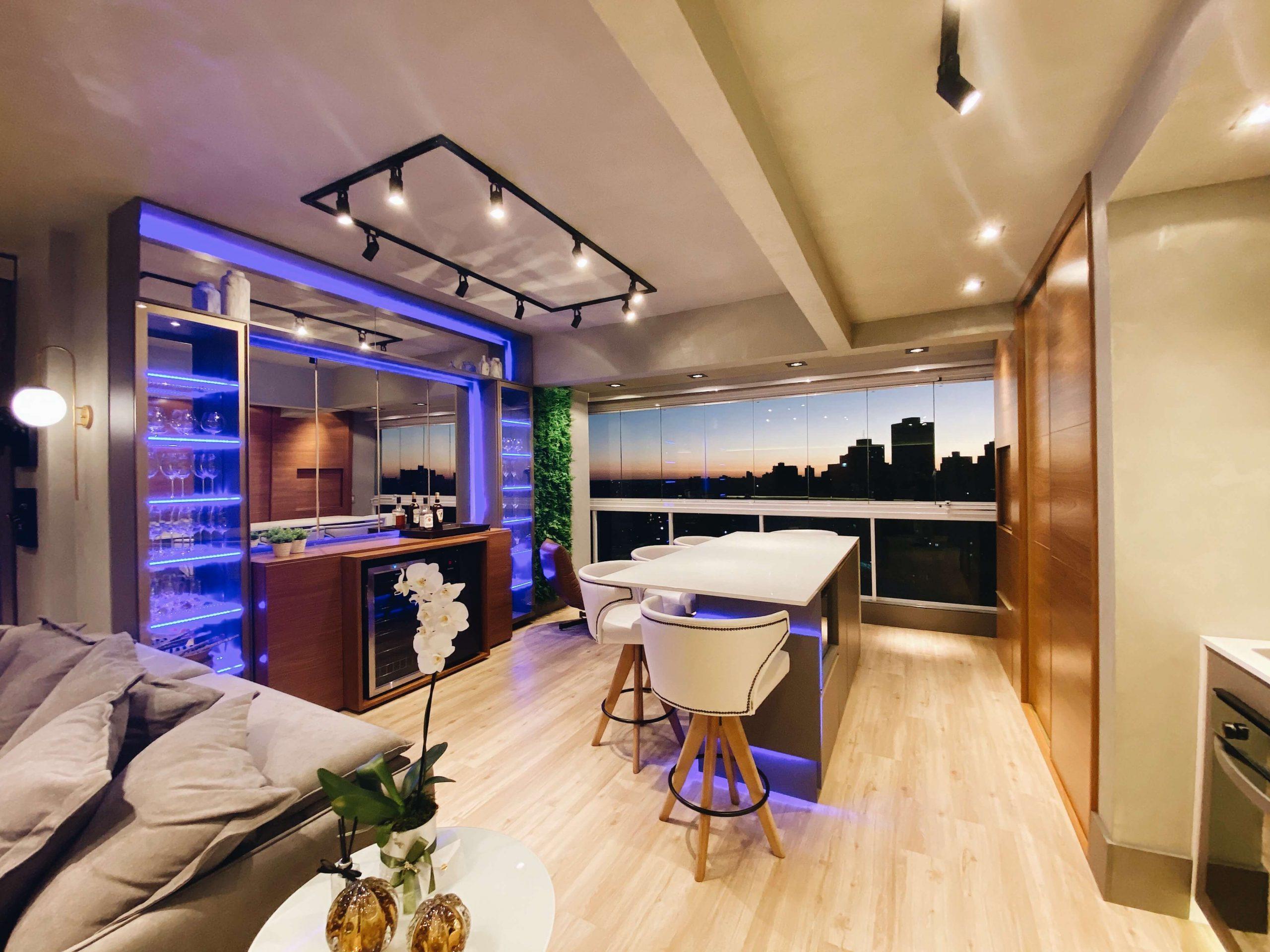móveis planejados para área gourmet