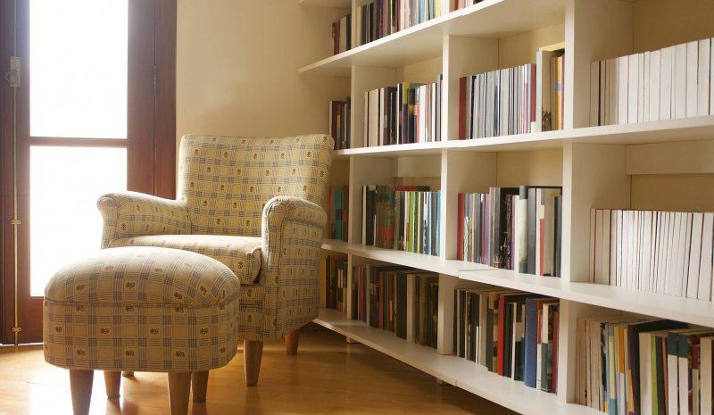 Estante de livros: 4 ideias inovadoras