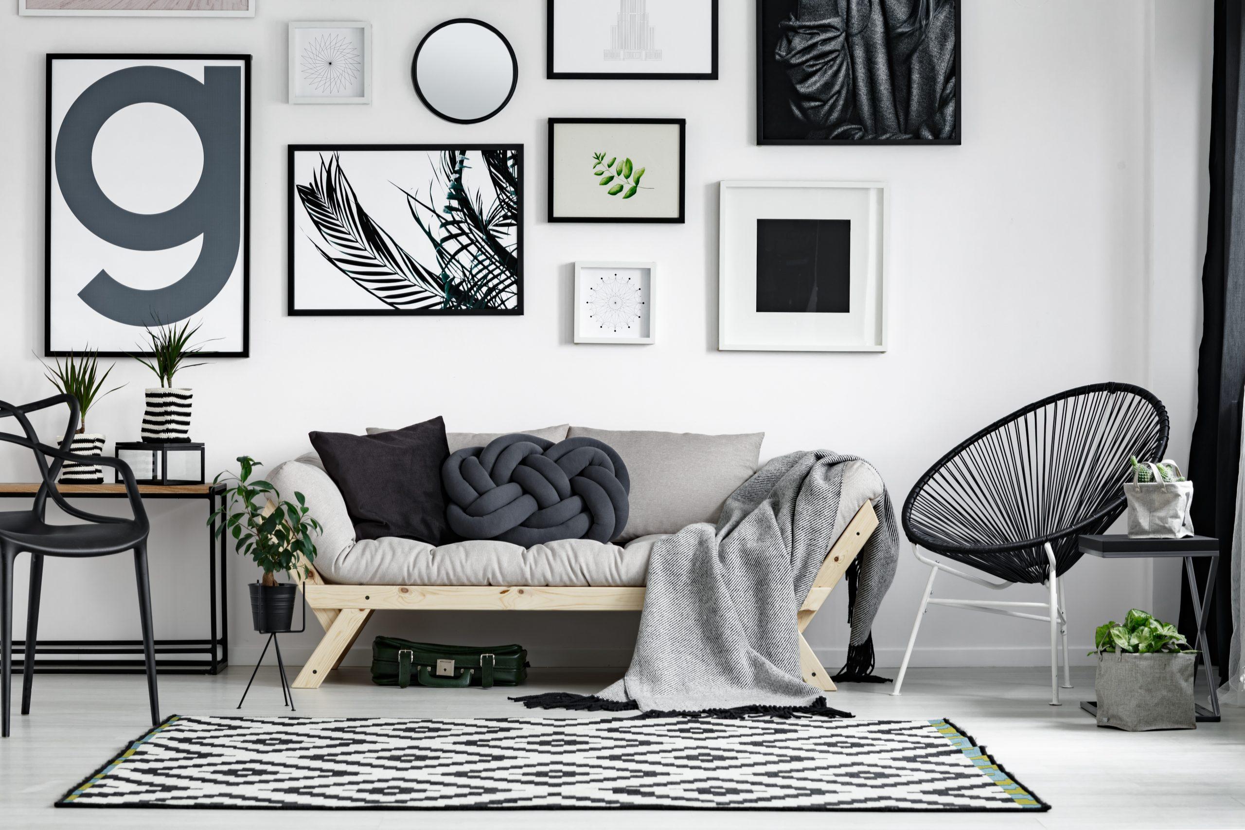 quadros minimalistas P&B
