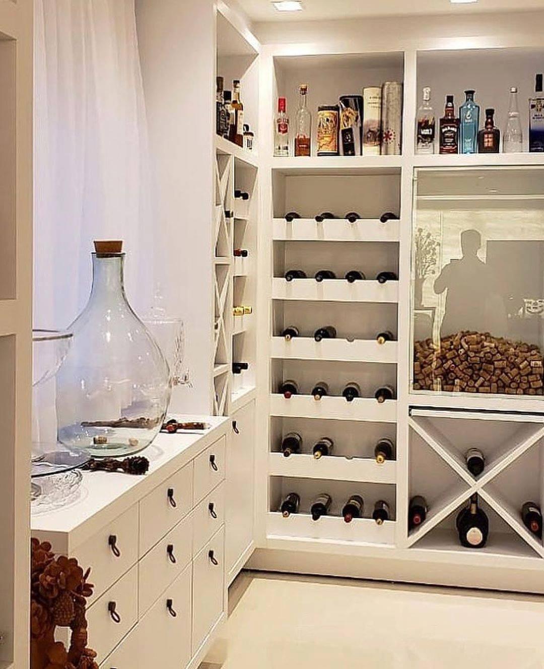 adega planejada de vinhos