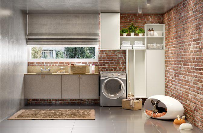 lavanderia e espaço pet