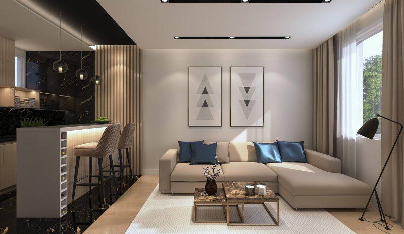 Como delimitar espaços em uma sala integrada?