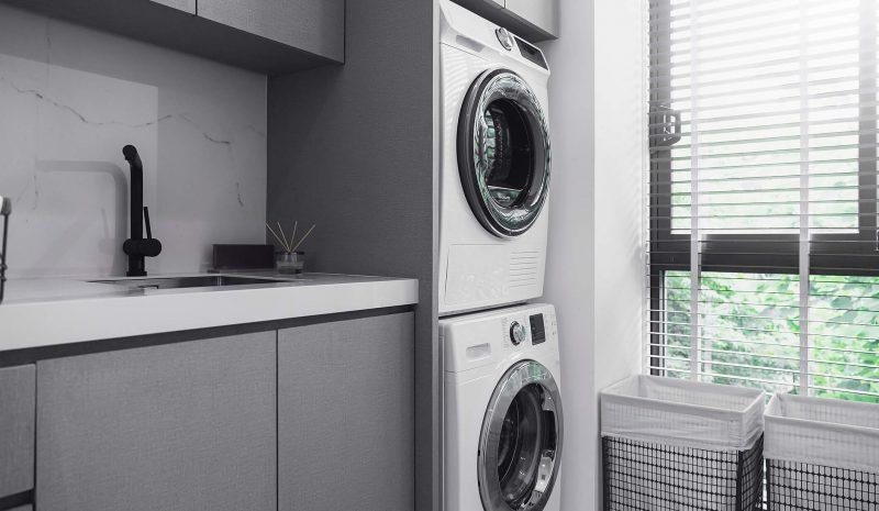 Lavanderia integrada com cozinha: como otimizar o espaço?