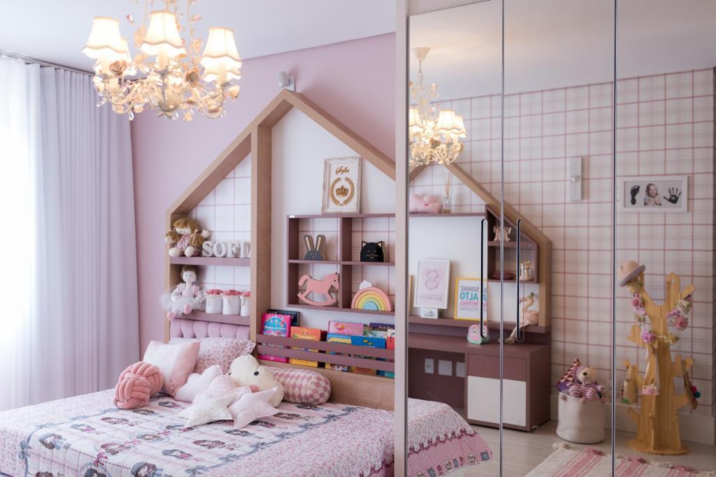 quarto de menina casinha de boneca