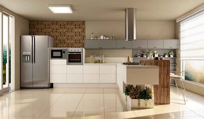 Como escolher os armários para área gourmet? Confira!