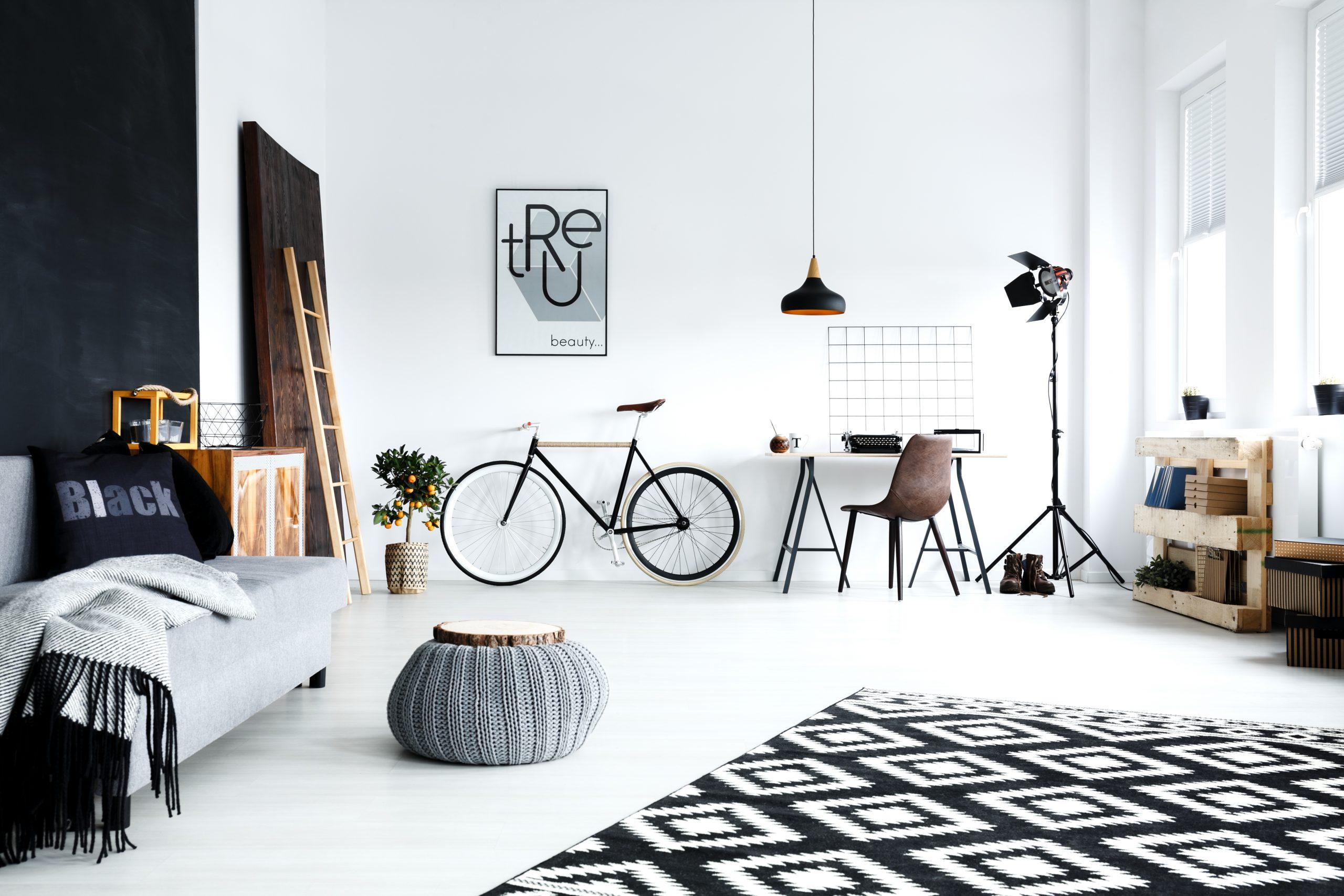 objetos pessoais - bicicleta na decoração