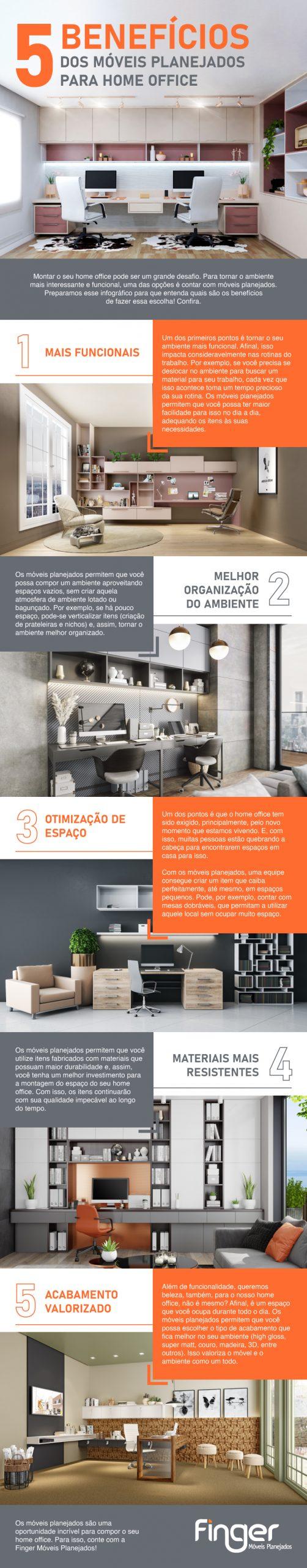 infografico melhorar o home office