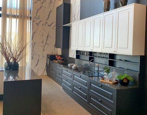 cozinha provençal preto e branco