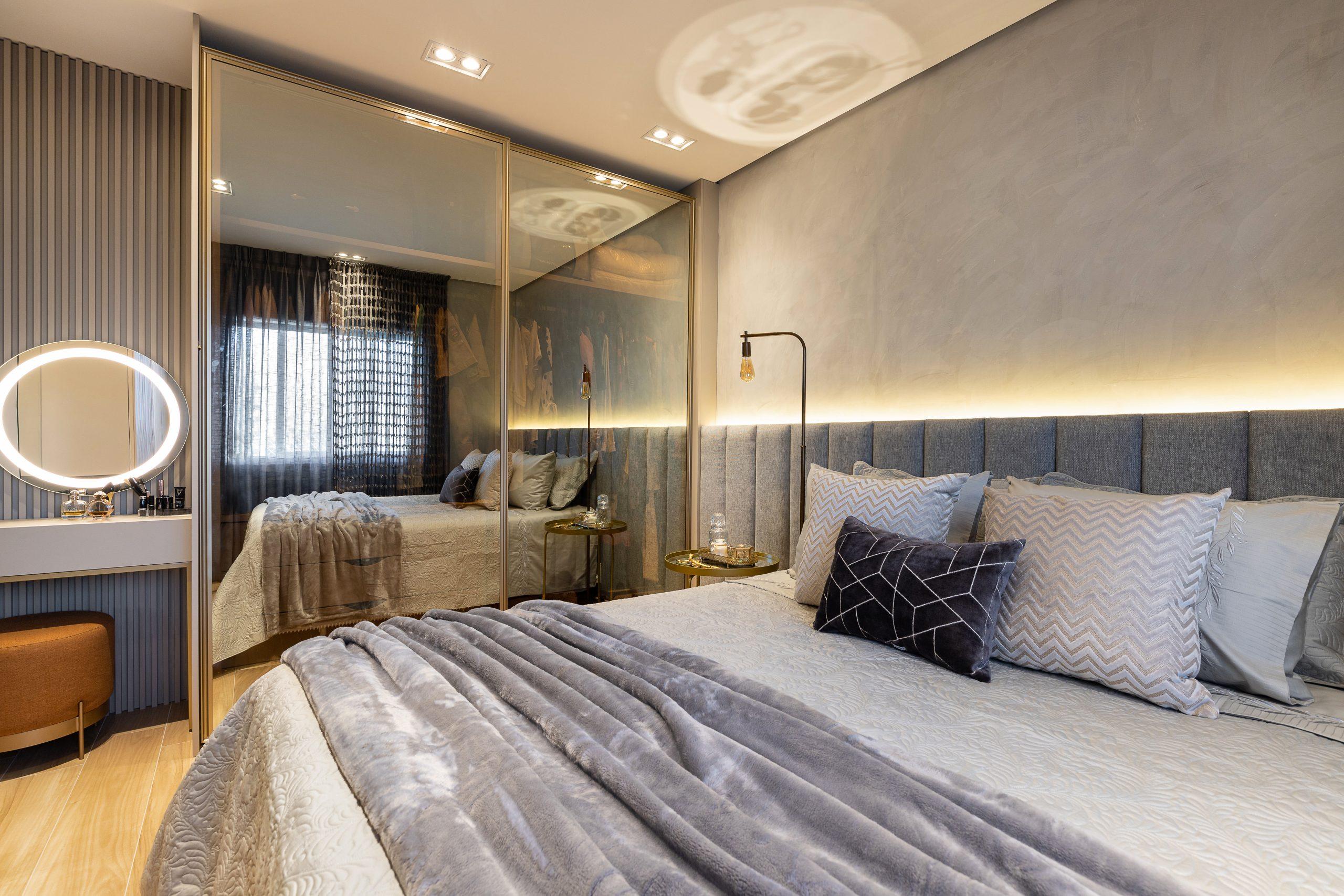 Dormitorio planejado quarto planejado aconchegante