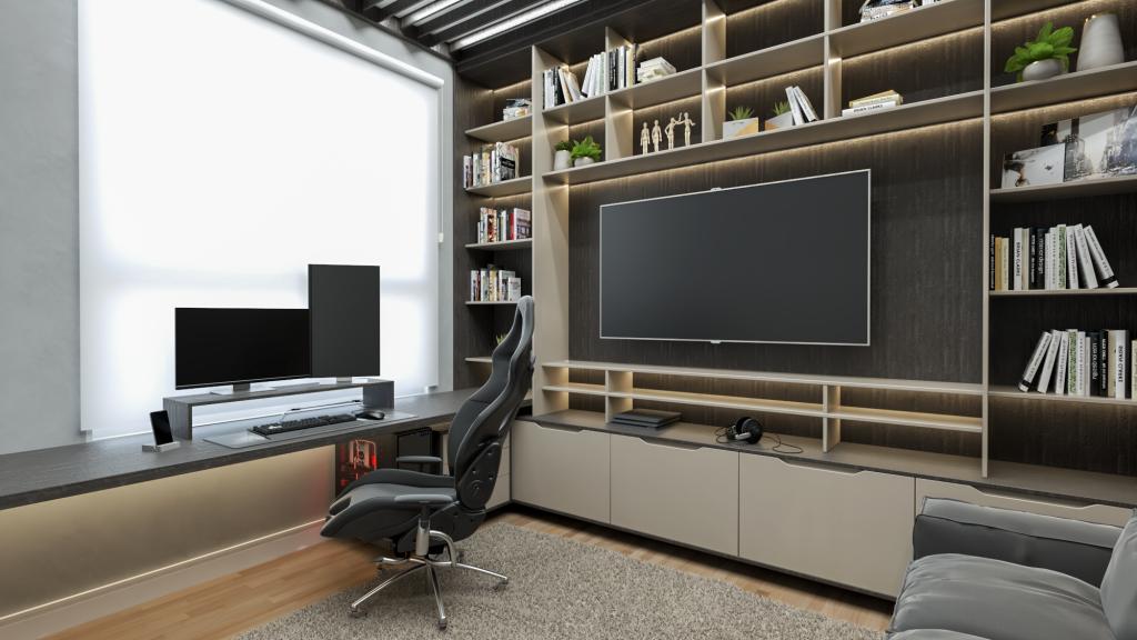 home office - linha feel - moveis planejados de alto padrao