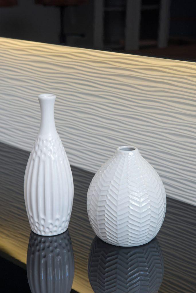 detalhe 3d lenz móvel branco textura