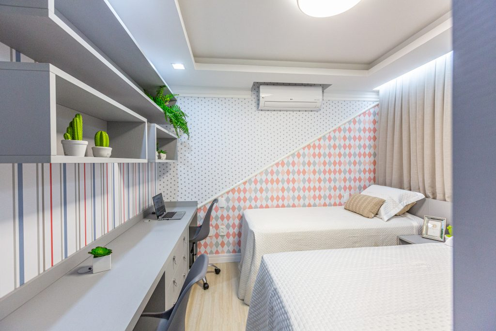 moveis para estudo dormitorio infantil home office