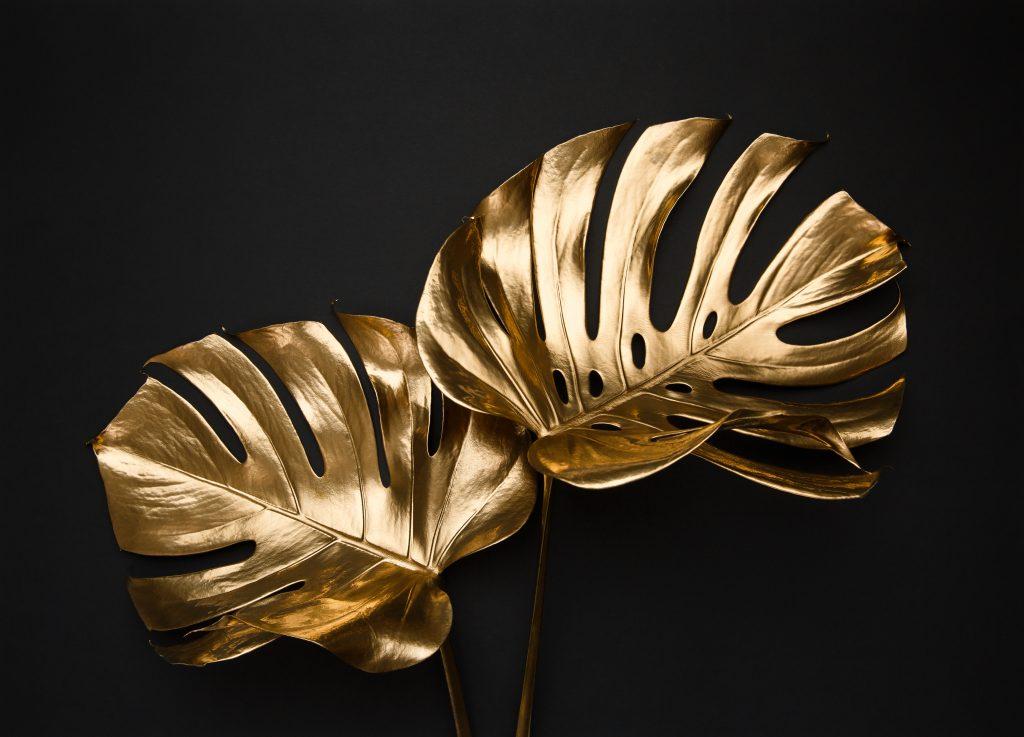 dourado no decor