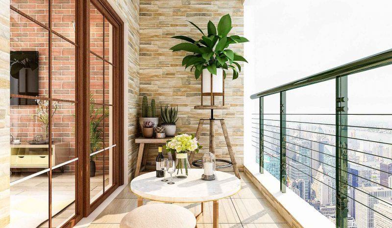 Como escolher os móveis para varanda pequena? Entenda mais